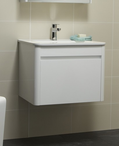 Ella 60cm White Vanity Unit and Basin