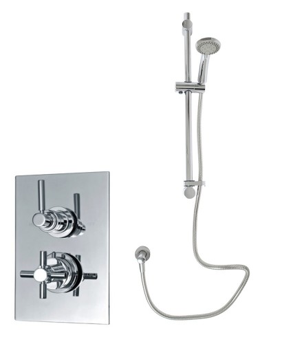 Galaxy Thermostatic Shower Kit 1
