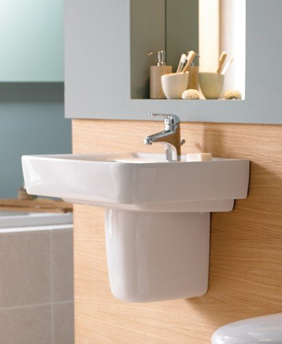 Galerie Plan Basin 60cm with Semi Pedestal
