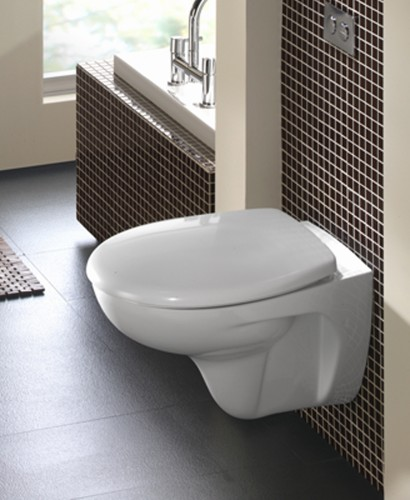 Twyford Galerie Wall Hung Toilet including Soft Close Seat