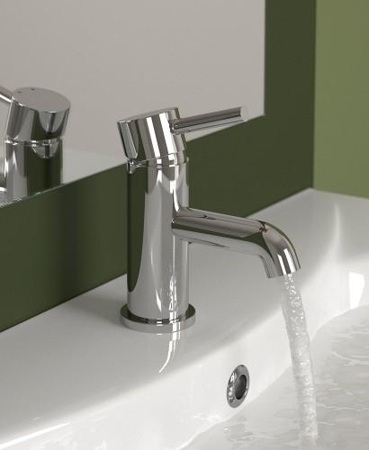 Harrow Cloakroom Basin Mixer with FREE Click Clack Basin Waste