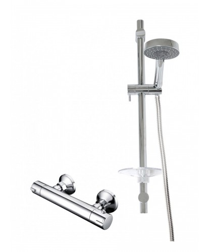 JAY T-Bar Thermostatic T-Bar Shower Kit
