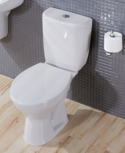 President Close Coupled Toilet and Seat with ECO flush