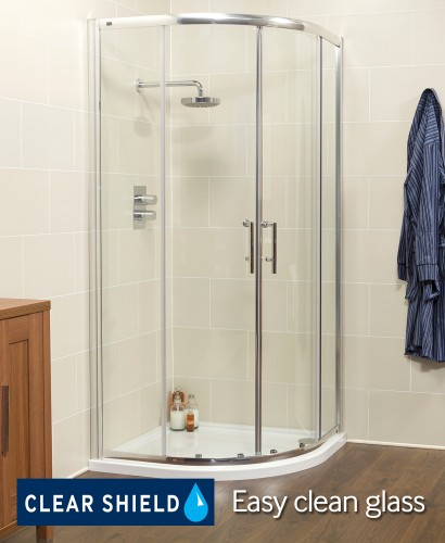 K2 900 Quadrant Shower Enclosure - Adjustment 855mm-880mm