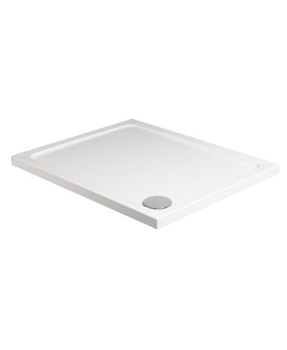 Kristal Low Profile 1600x800 Rectangle Shower Tray with FREE shower waste