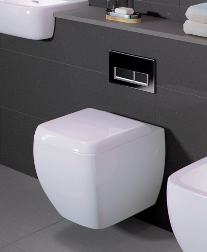 Metropolitan Wall Hung Toilet and Soft Close Seat