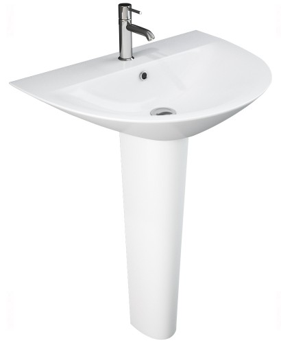 Morning Basin 55cm & Full Pedestal (1TH)