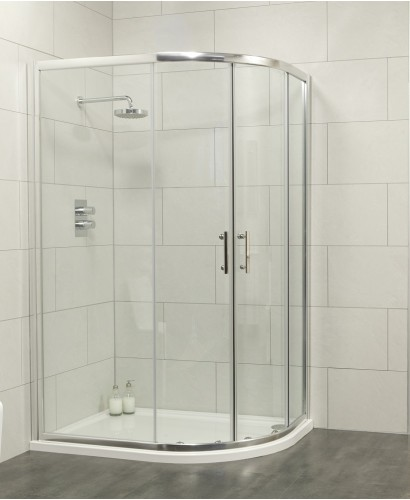 City 1000x800 Offset Quadrant Shower Enclosure