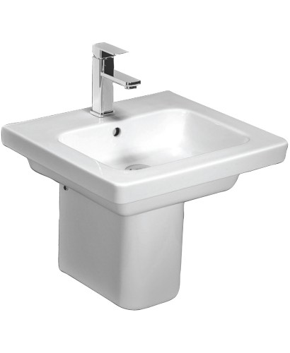 Resort 550 Basin & Semi Pedestal