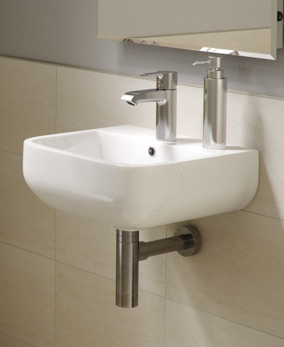 Series 600 Basin 40cm - 1 Tap Hole