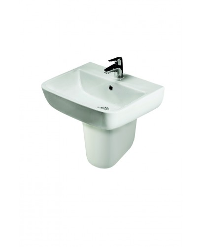 Series 600 Basin 52cm and Semi Pedestal