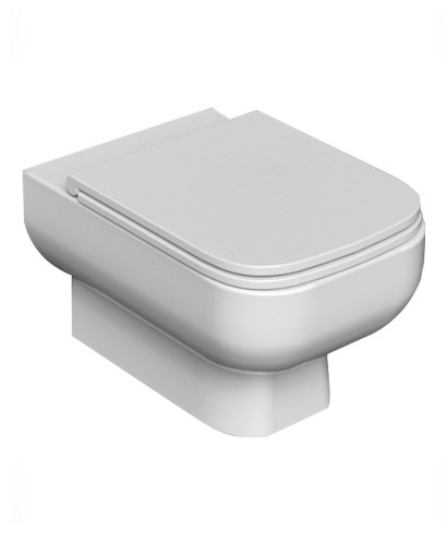 Series 600 Wall Hung Toilet & Slim Soft Close Seat - Short Projection - 520mm