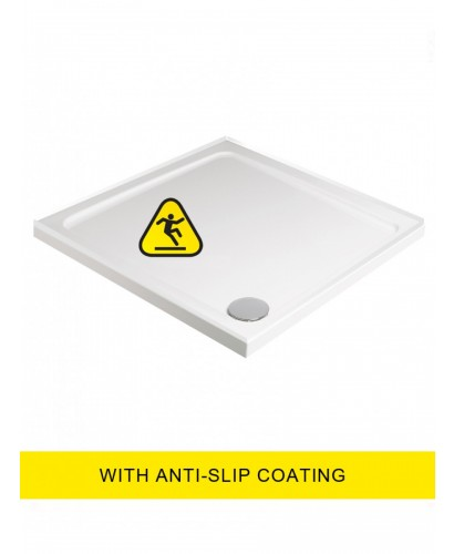 Kristal Low Profile Shower Anti Slip 700x700 Square Shower