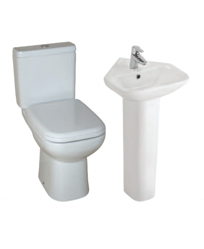 Origin 62 En Suite Packs Corner Toilet