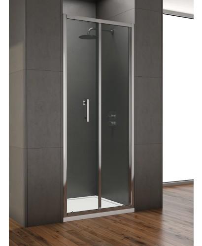 Style 850mm Bi-fold Shower Door -  Adjustment 800 - 840mm