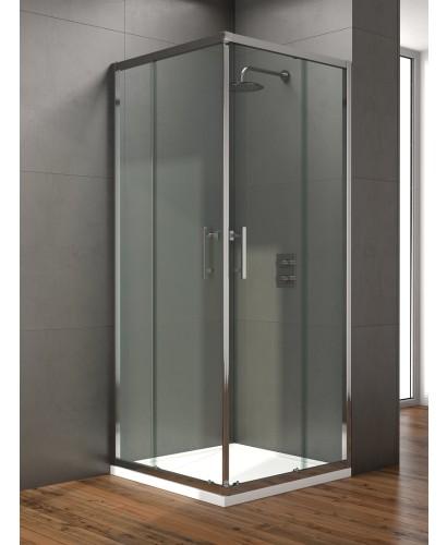 Style 900mm Corner Entry Shower Door - Adjustment 860 - 880mm