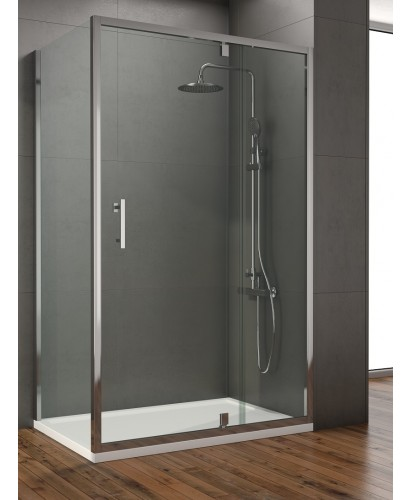 Style 1200mm Inline Pivot Shower Door Adjustment 1150