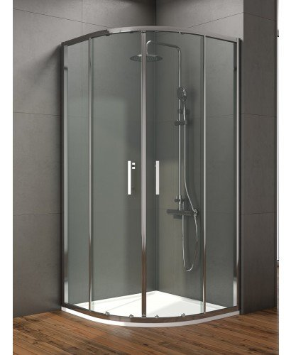 Style 800mm Double Door Quadrant Enclosure - Adjustment 760 - 780mm