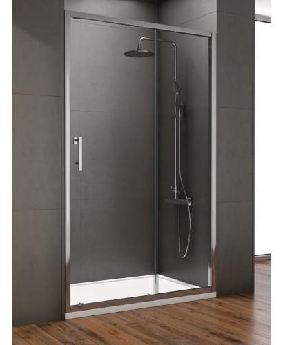 Style 1150mm Sliding Shower Door - Adjustment 1100 - 1140mm,