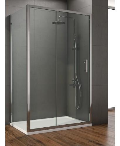 Style 1400mm sliding shower door adjustment 1350 1390mm for 1400mm sliding shower door