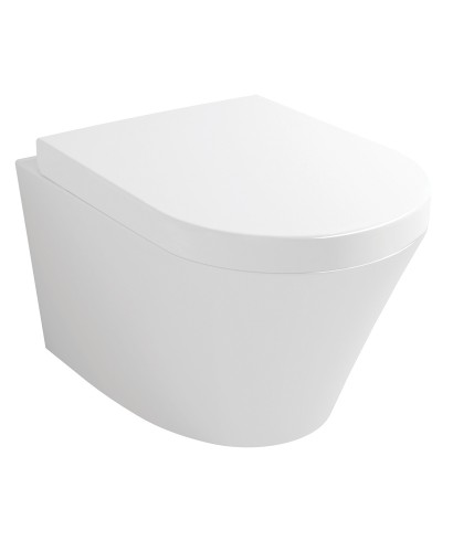 Evoque Wall Hung Toilet & Soft Close Seat