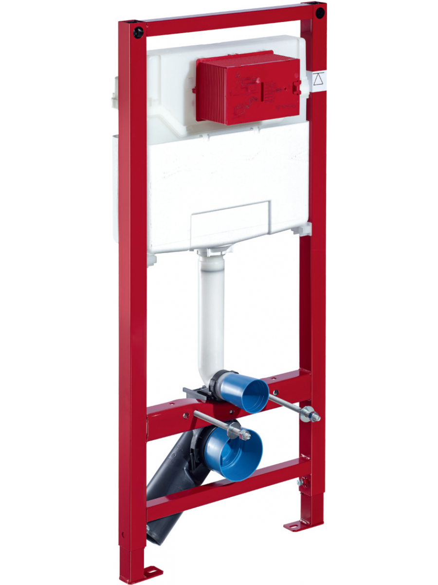 Schell WC Mounting Frame with Dual Flush Concealed Cistern