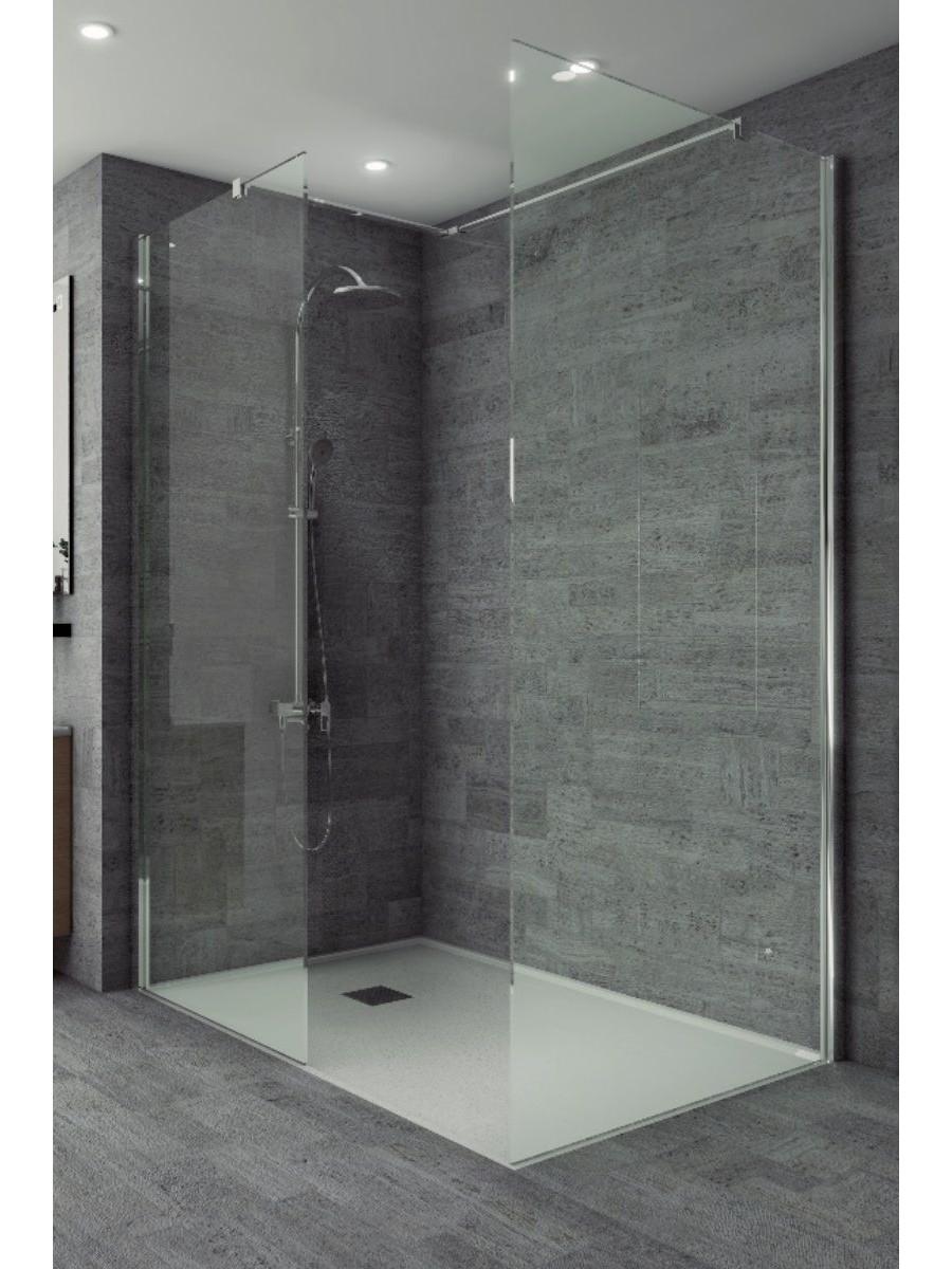 Studio 8mm Wetroom Side Panel 1000