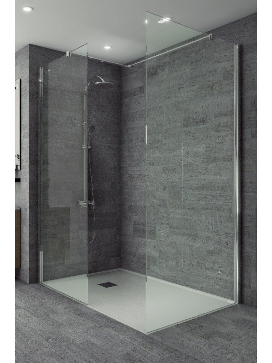 Studio 8mm Wetroom Side Panel 700