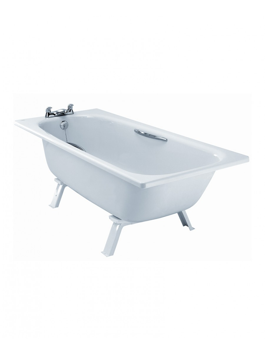 Assisted 1700 x 700 Steel Bath