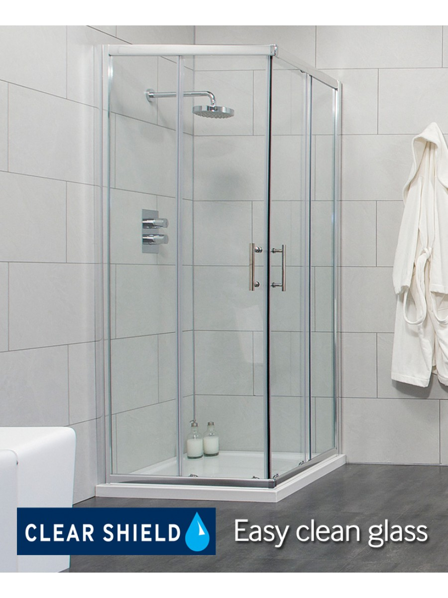 City 900 Corner Entry Shower Enclosure - Special Offer* - includes ...