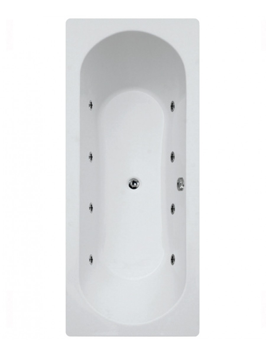 Clover 1700X750 8  Whirlpool Bath