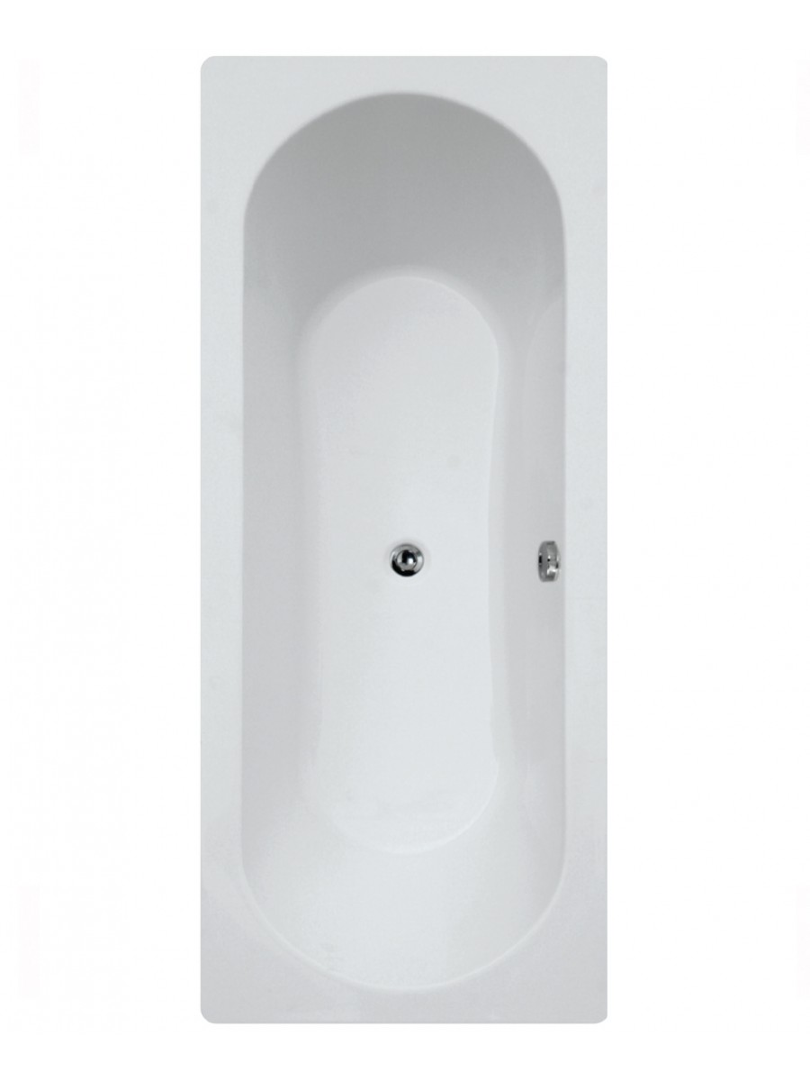 Clover 1800 x 800 Double Ended Bath