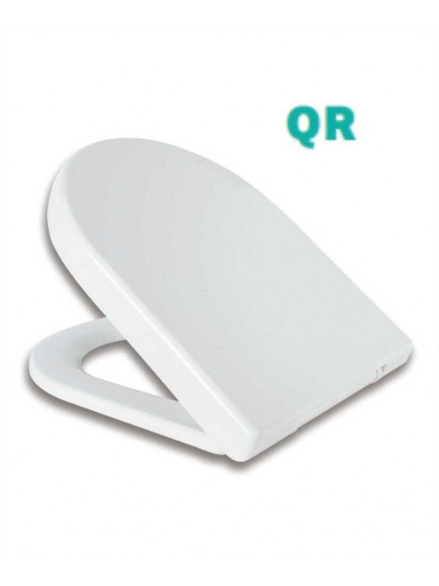 Delta D Shaped Toilet Soft Close Quick Release Seat