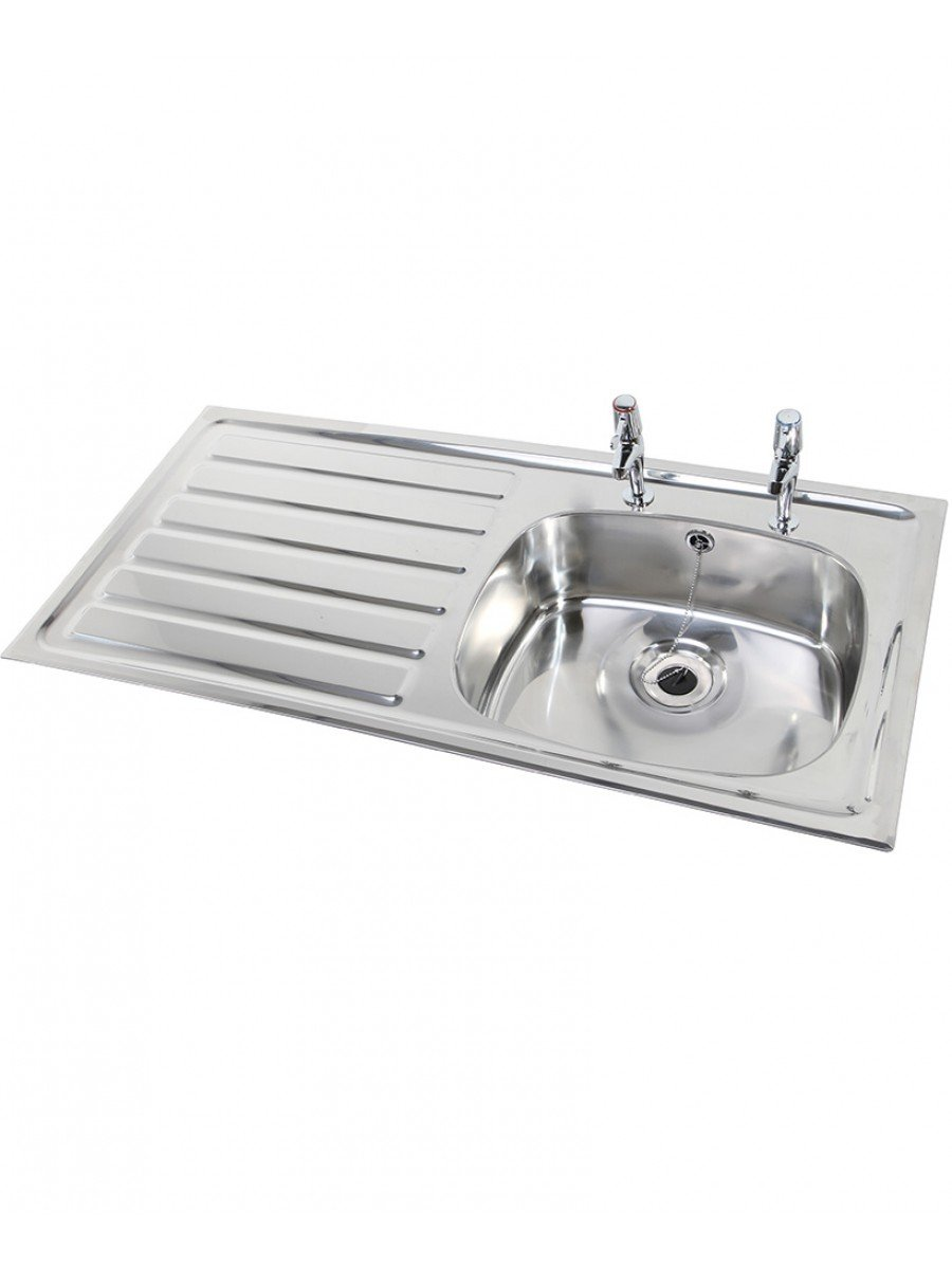 Ibiza HTM64 Inset Hospital Sink 923x500mm Left hand Drainer