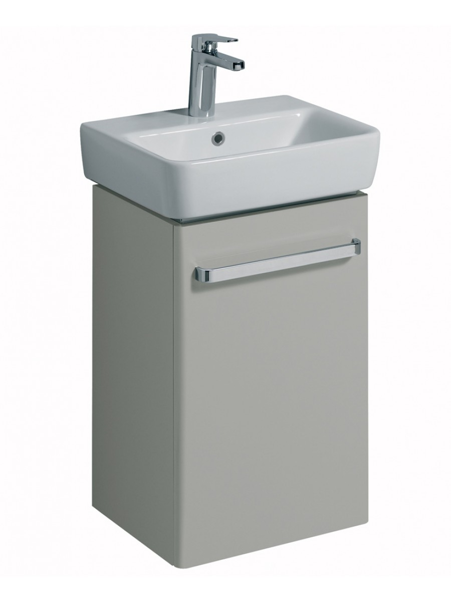 E200 450 Grey Vanity Unit Wall Hung