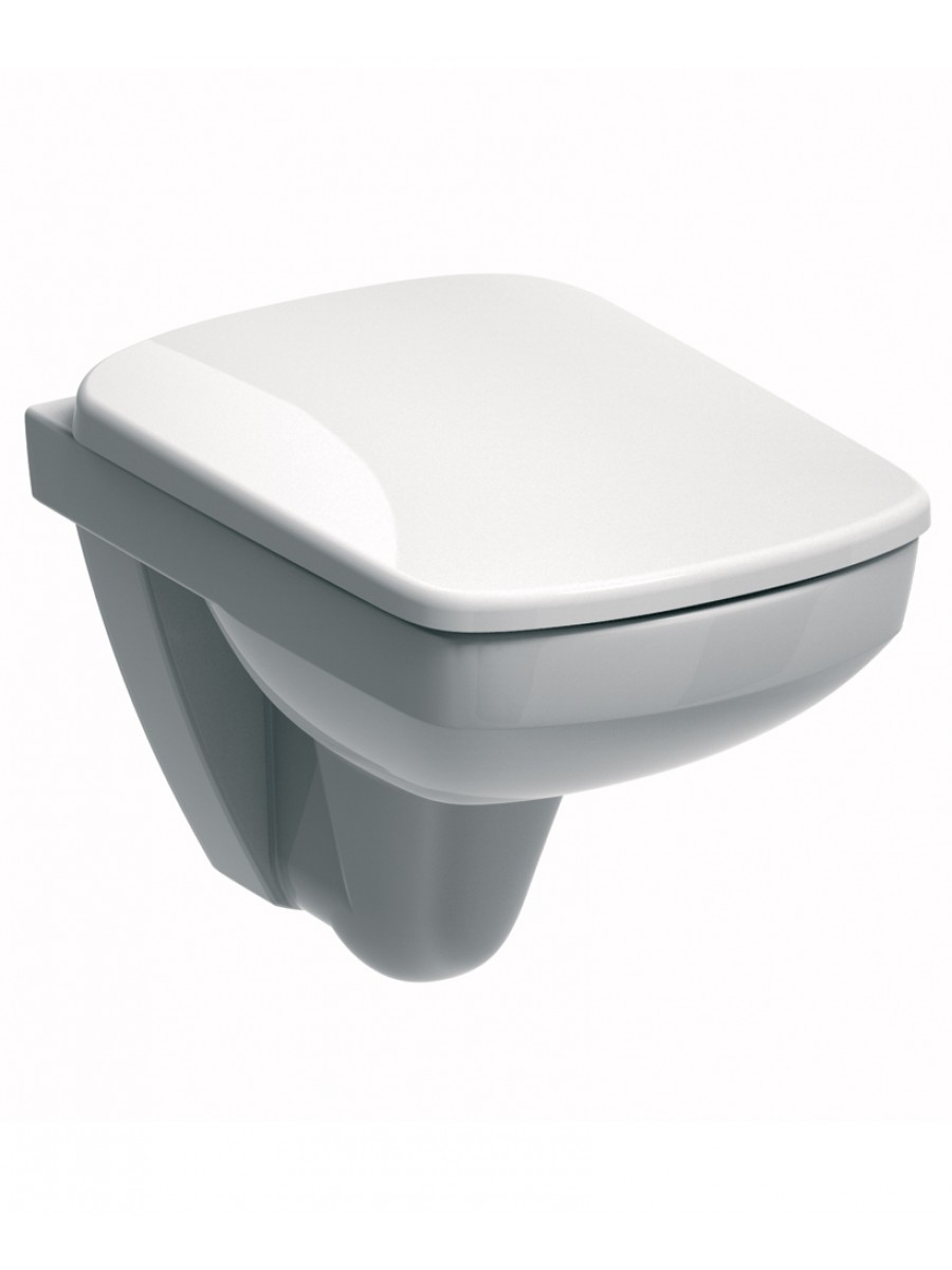 E200 Space Saver Wall Hung Toilet & Standard Seat
