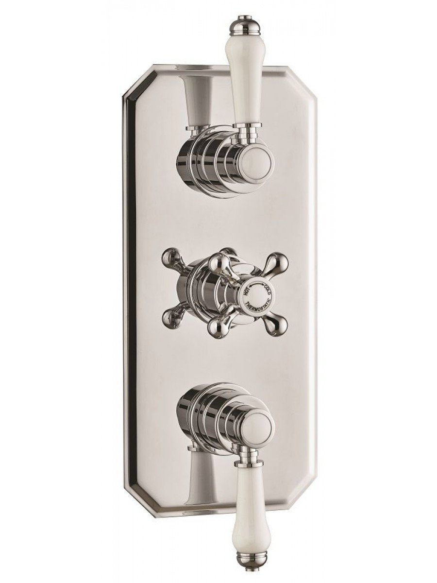 Carys Triple Control Concealed Thermostatic Shower Valve