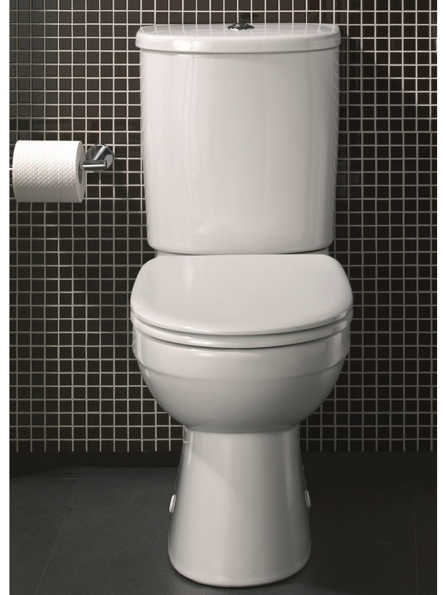 Twyford Galerie Close Coupled Toilet & Soft Close Seat