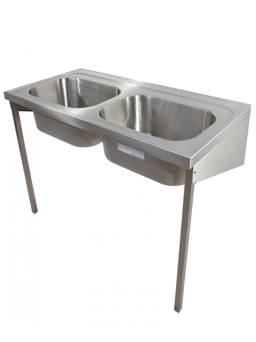 Sark HTM64 Healthcare Sink 1200 Double Bowl