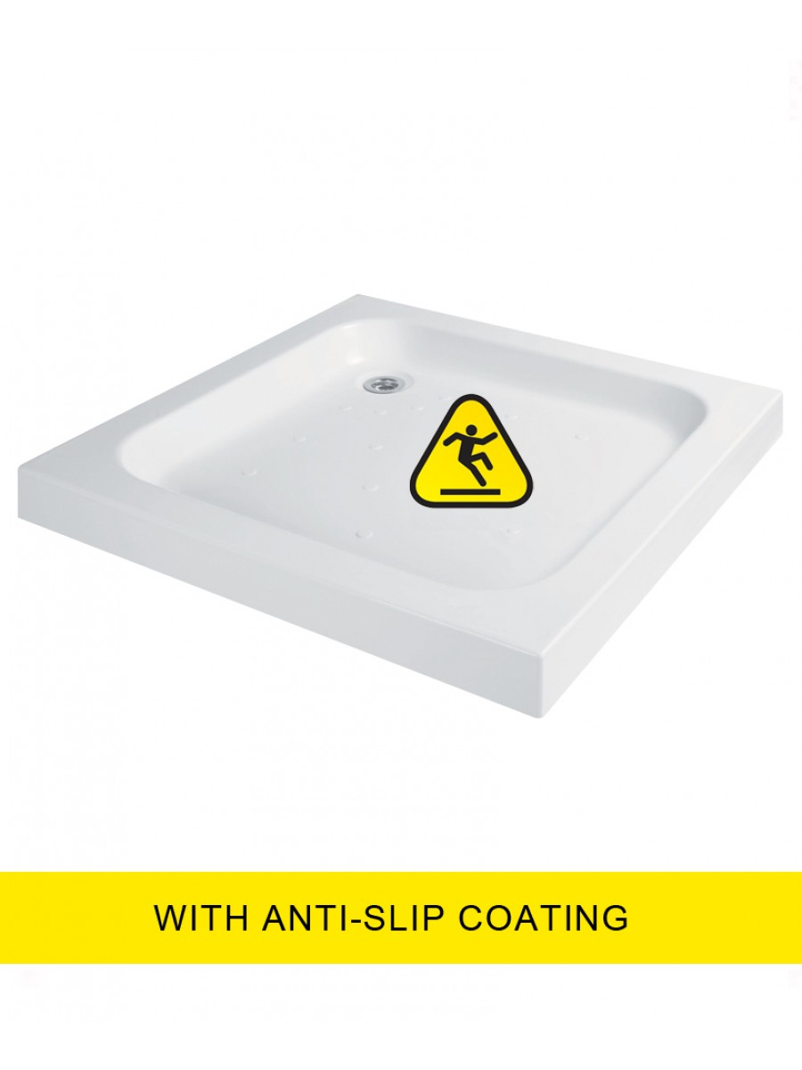 JT Ultracast 760 Square Shower Tray - Anti Slip