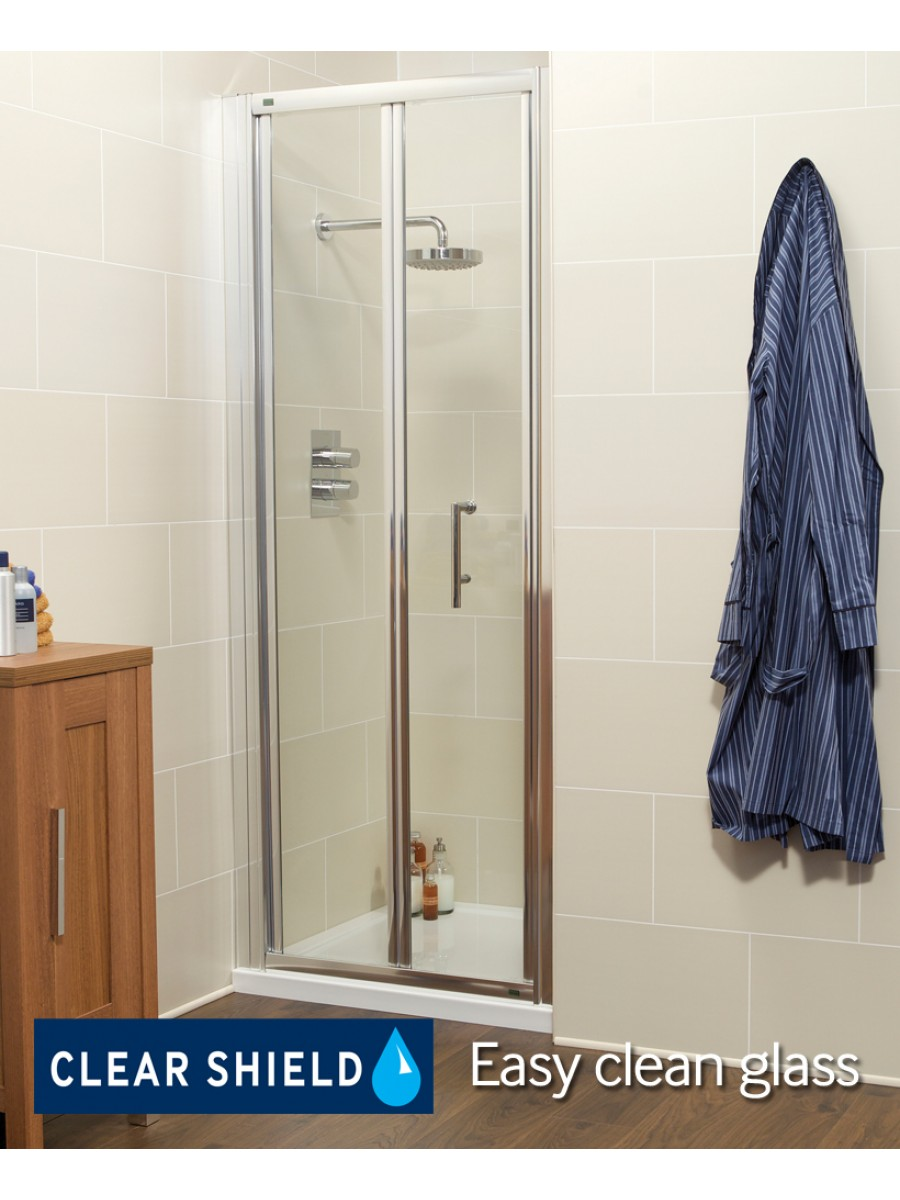 K2 900 Bifold Shower Door - Adjustment 860 -920mm