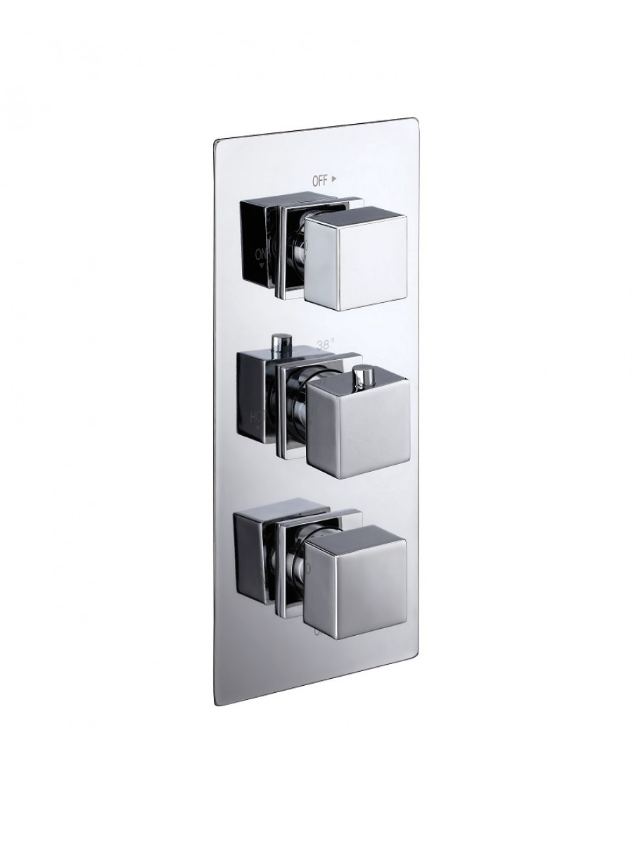 Pictor triple control shower valve concealed shower - Shower controls ...