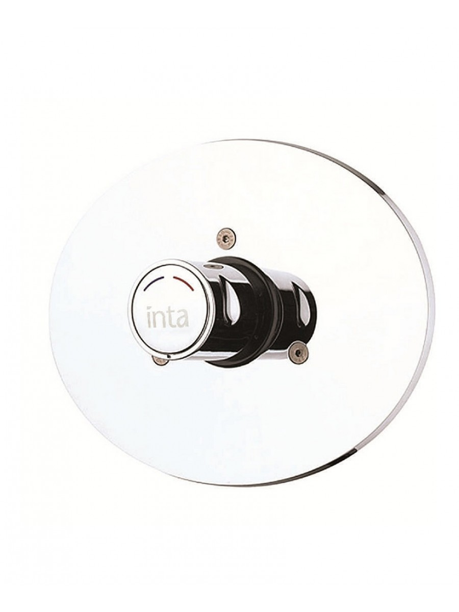 Time Flow Shower Control c/w Temperature Adjustment Concealed