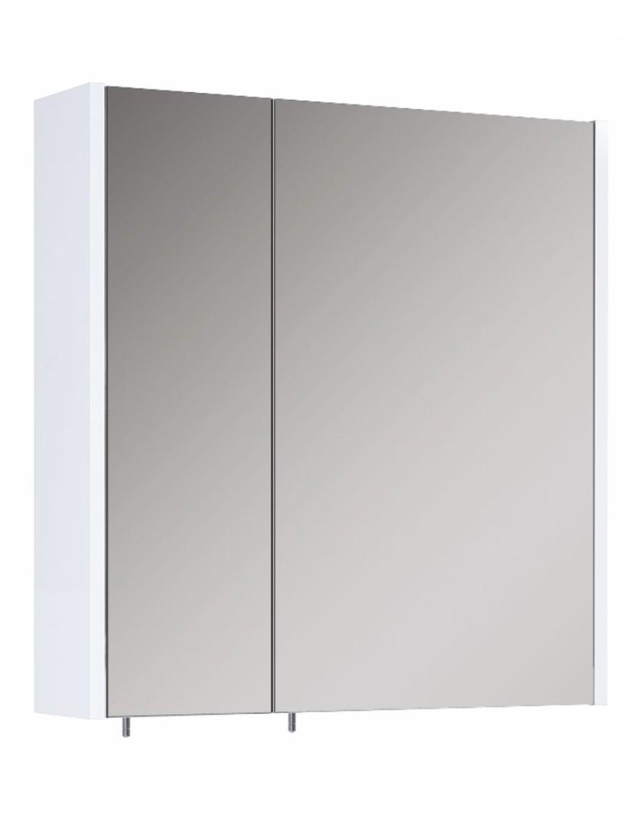 Otto Plus White 60 Mirror Cabinet