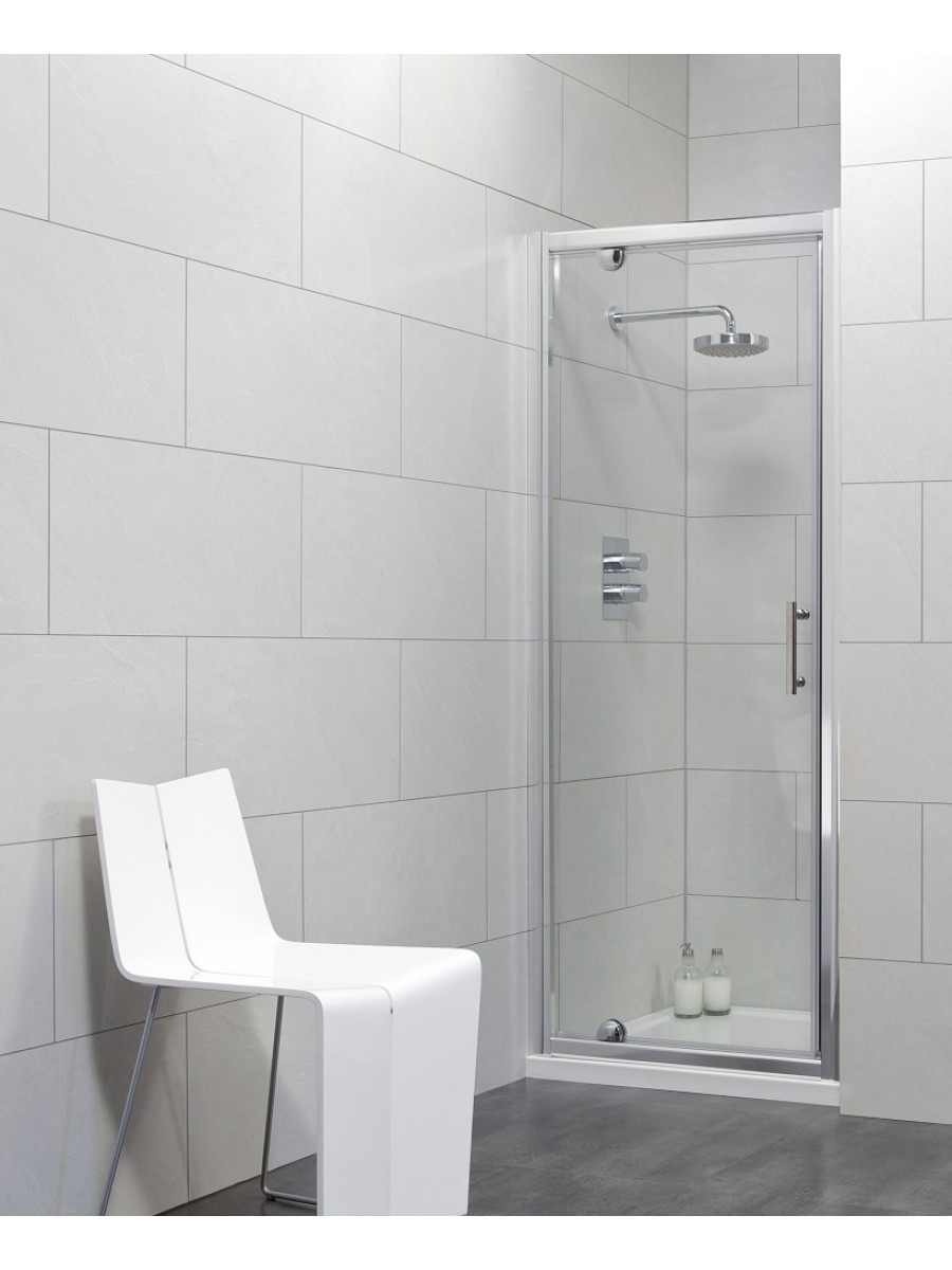City 800 Pivot Shower Door Adjustment 740 790mm Special Offer Includes Shower Tray And Waste
