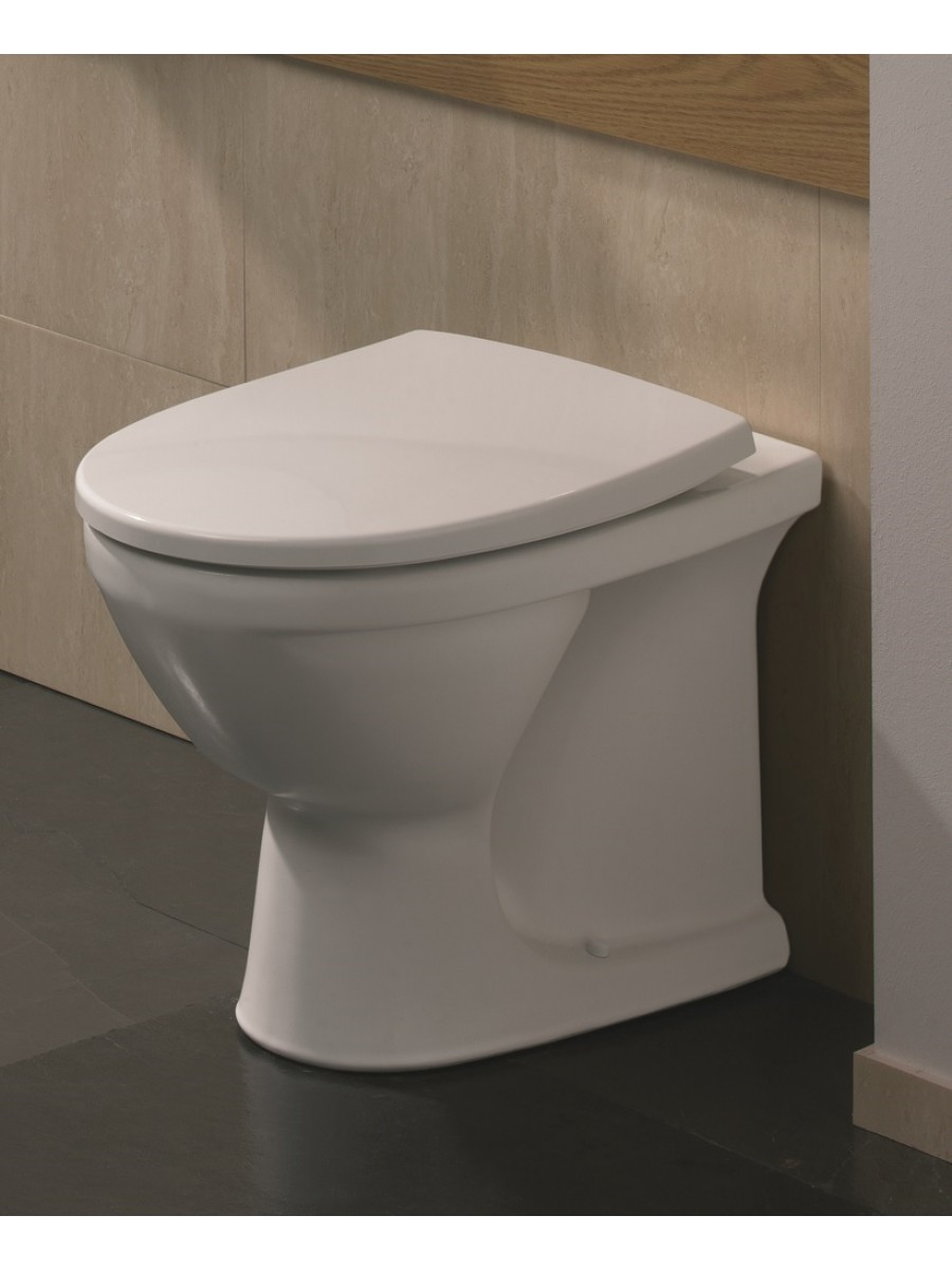 Twyford Refresh Back to Wall Toilet & Soft Close Seat