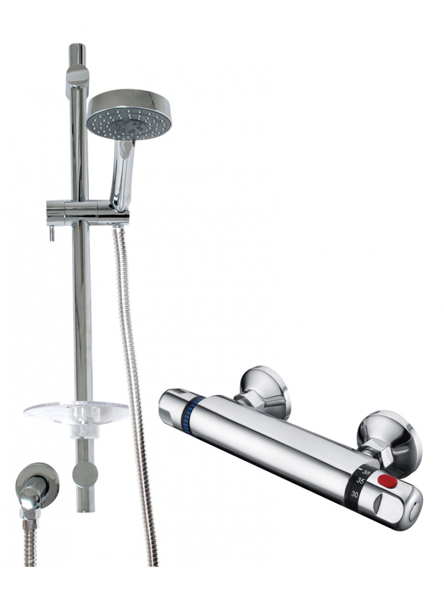 REECE T-Bar Shower Valve & Marine Slide Rail Kit
