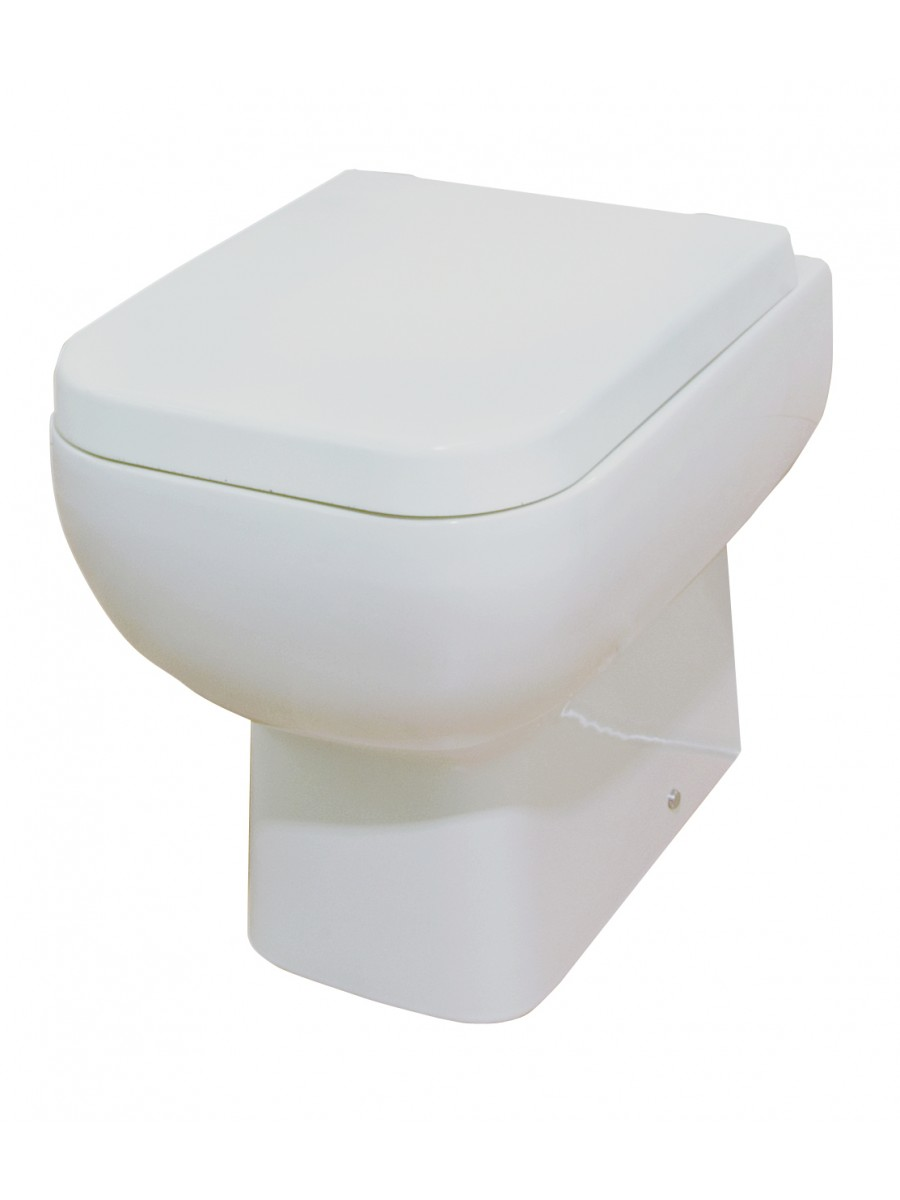 Series 600 Back to Wall Toilet & Soft Close Seat