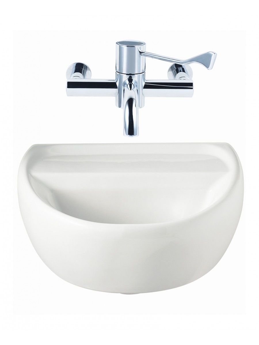 Sola Medical 400 Washbasin No Tap Hole