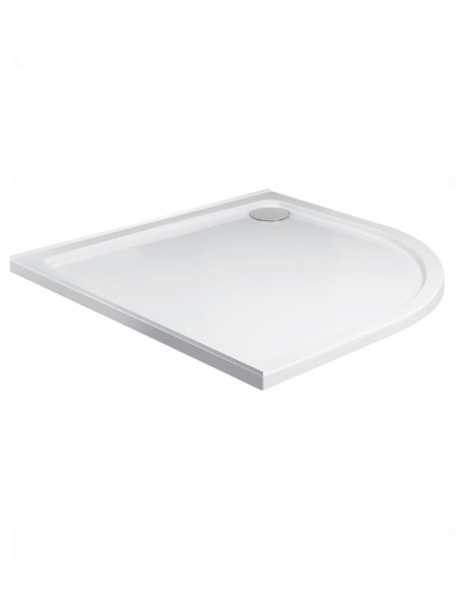 Kristal Low Profile 900 Quadrant Upstand Shower Tray  with FREE shower waste